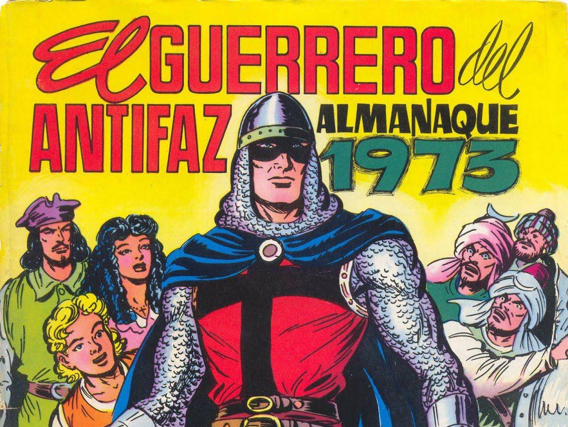 El Guerrero del Antifaz. Historias cortas de los almanaques.