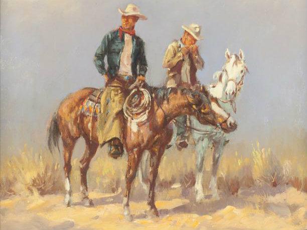 El trío de oro del comic western