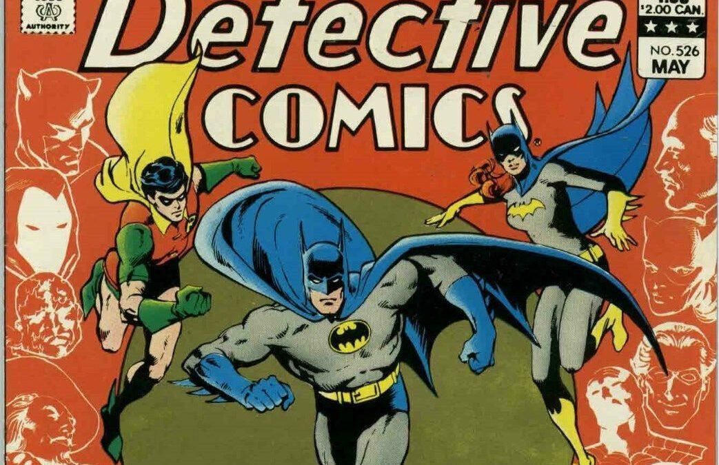 Reseña Vintage Detective Comics # 526