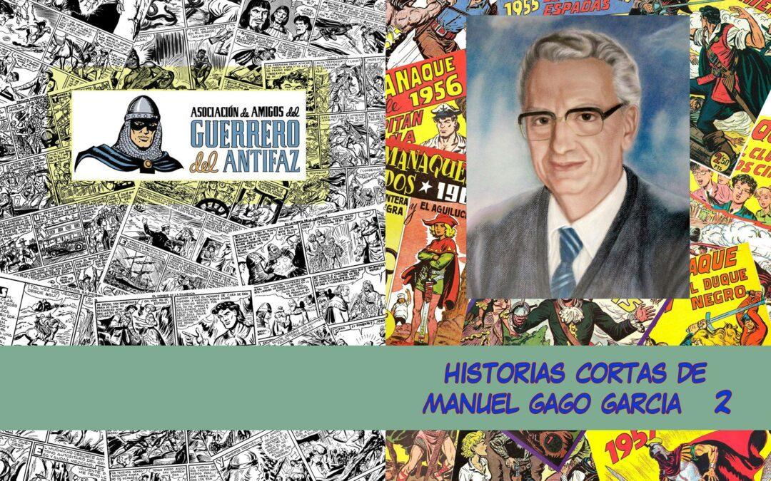 Historias Cortas de Manuel Gago Garcia. Volumen 2.