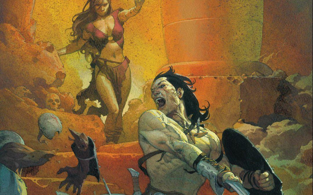 Reseña Conan the Barbarian # 1
