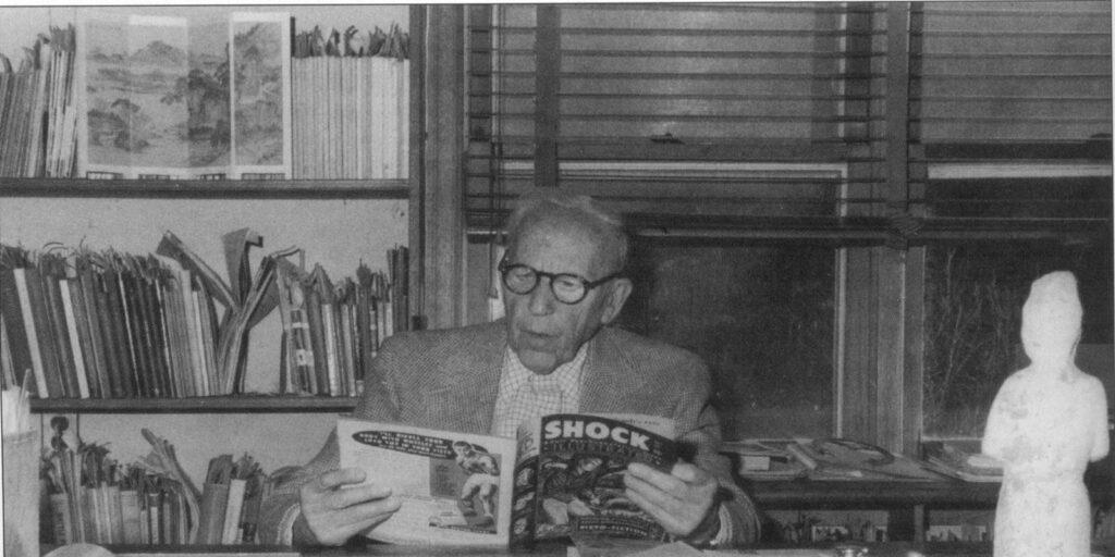 El señor Wertham ya entrado en años.