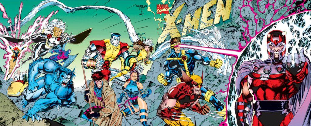 La cuádruple portada de la edición especial de X-Men #1