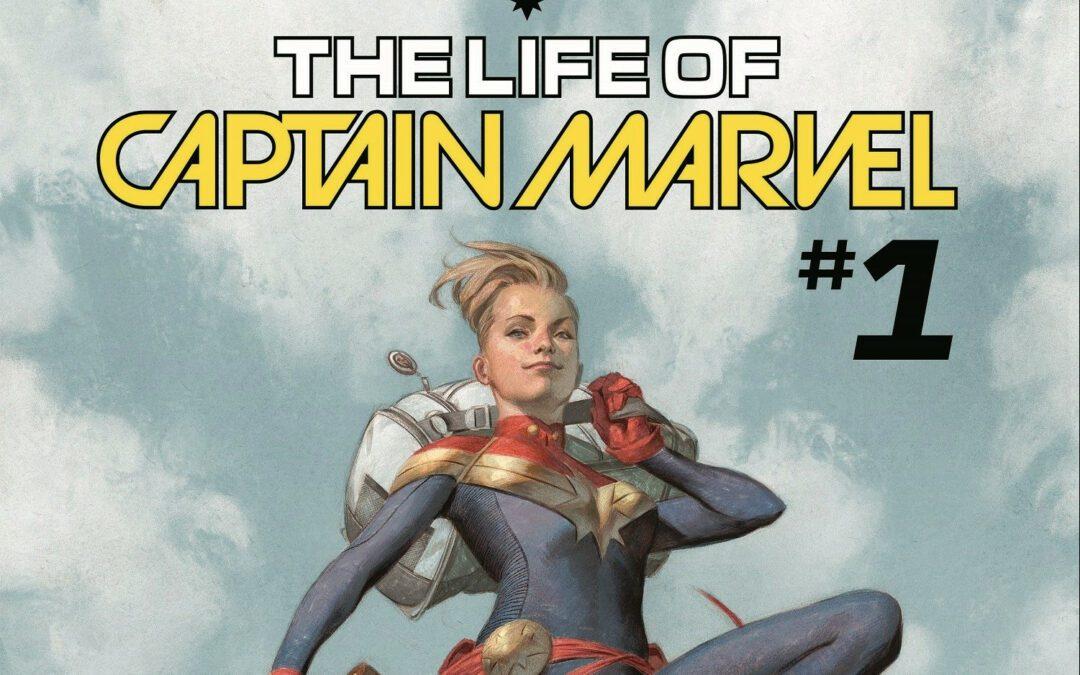 Reseña La Vida de la  Capitana Marvel