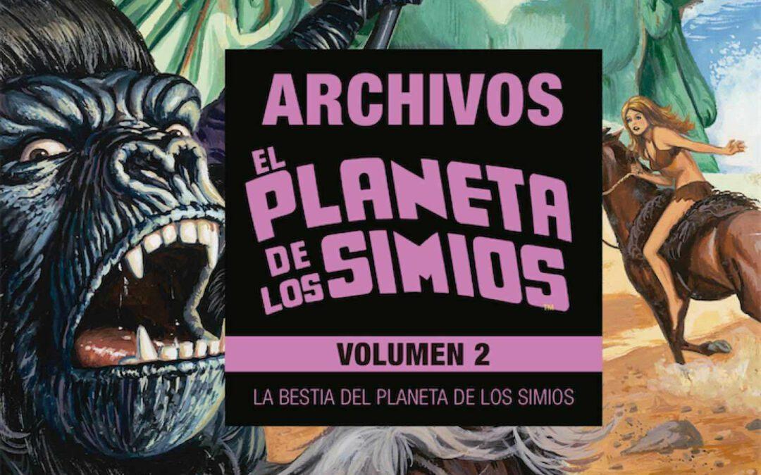 Reseña Archivos El Planeta de los Simios vol.2