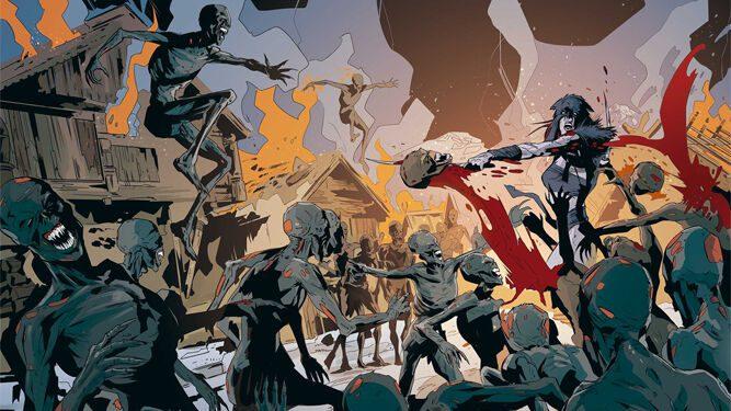 Reseña Ghost Wolf de Karras Comics