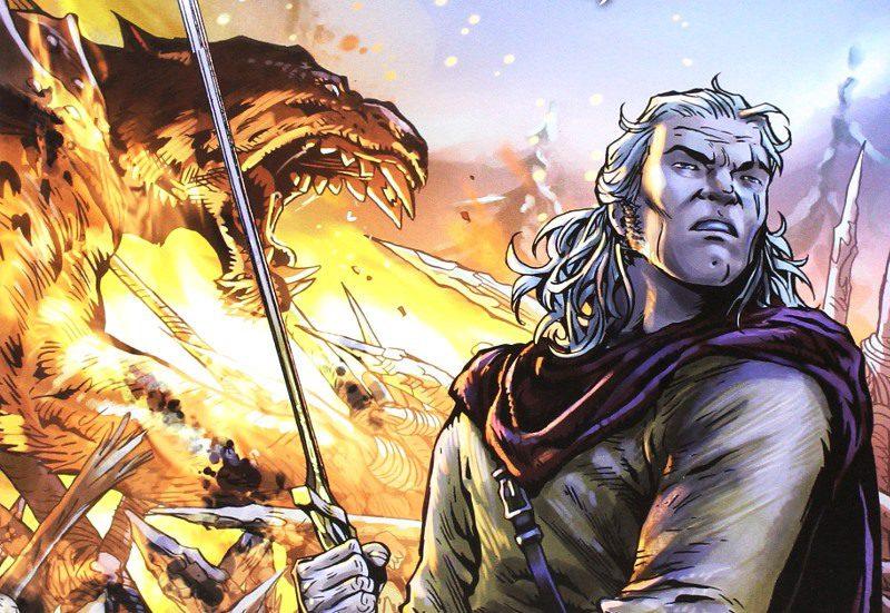 Dragonero: En la tierra de los Necrófagos