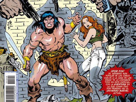 Reseña Conan Bienvenido a Márvel