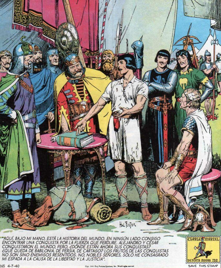 Principe Valiente, un ejemplo del comic en la edad media