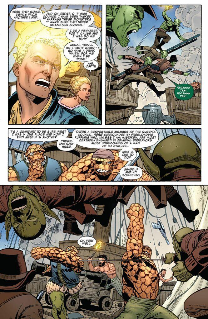 4 Fantásticos Marvel Saga