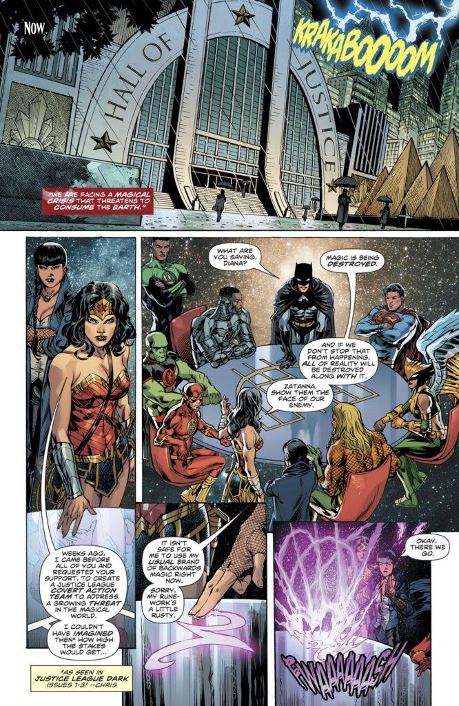 Wonder Woman JLA