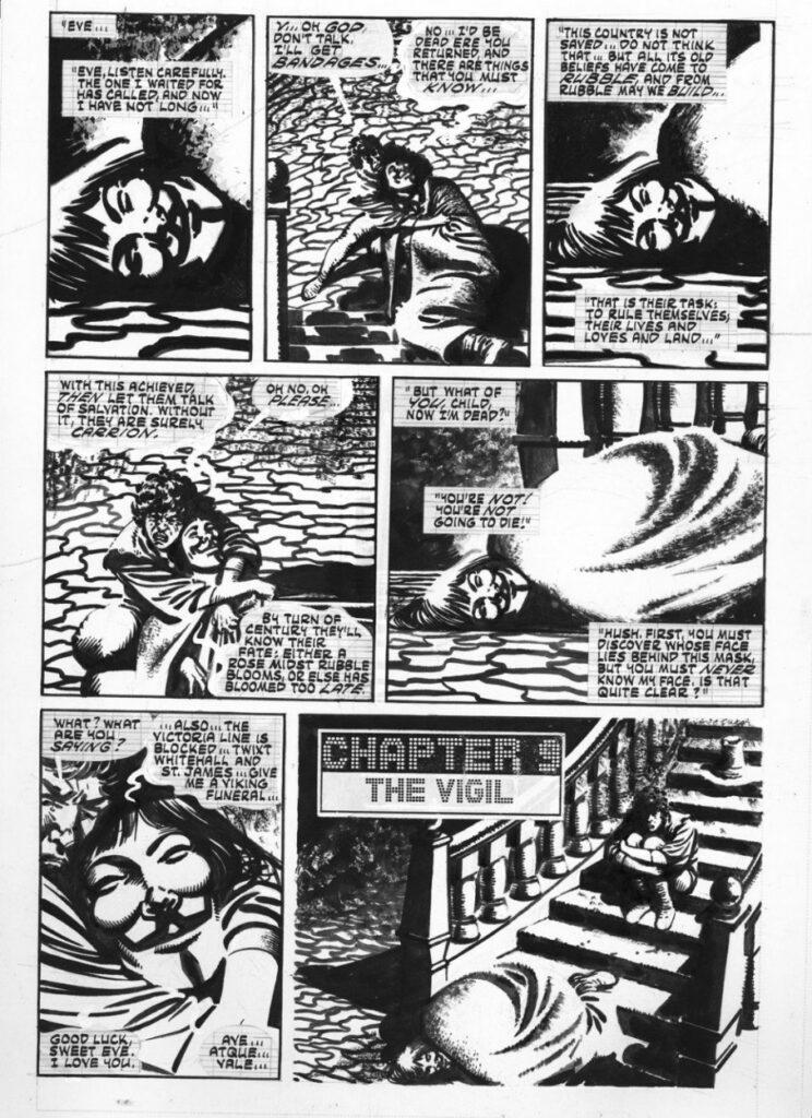 V de Vendetta Alan Moore