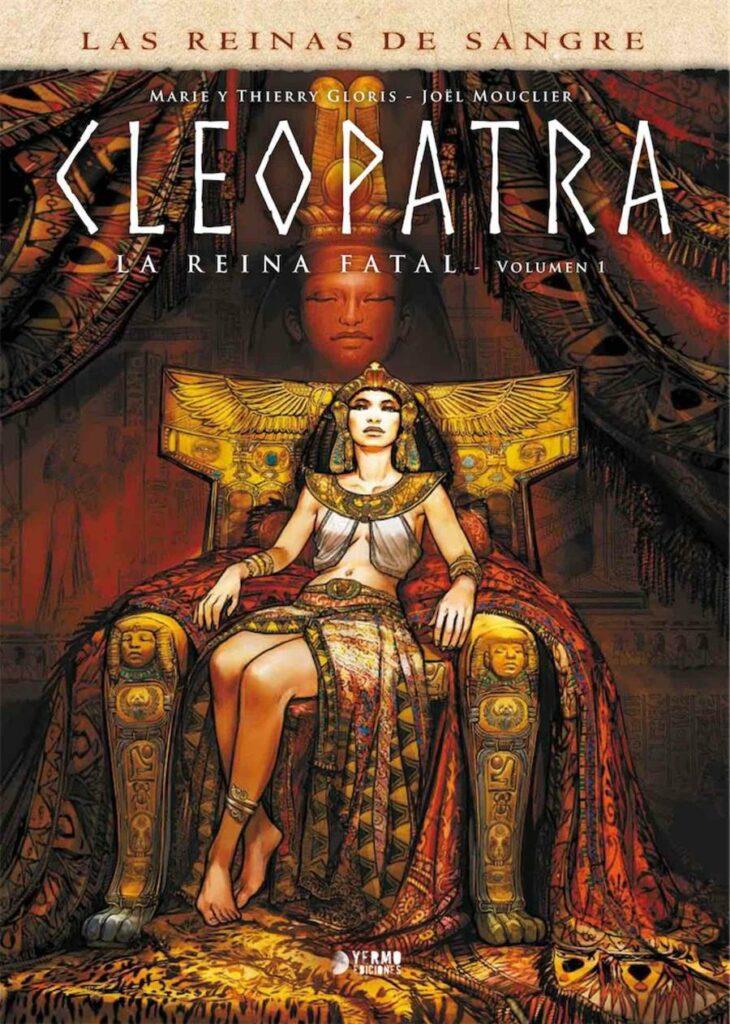 Cleopatra Portada Yermo Ediciones