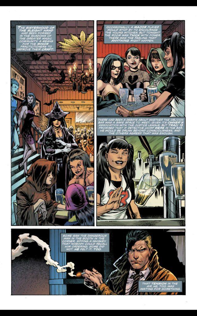 Wonder Woman Liga de la Justicia La Hora Bruja
