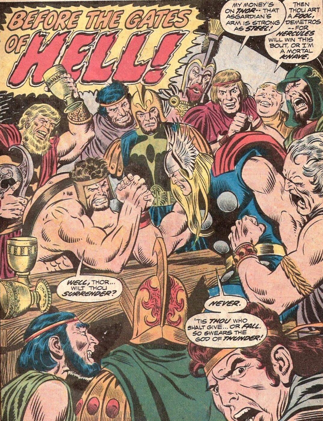 Thor y Hércules