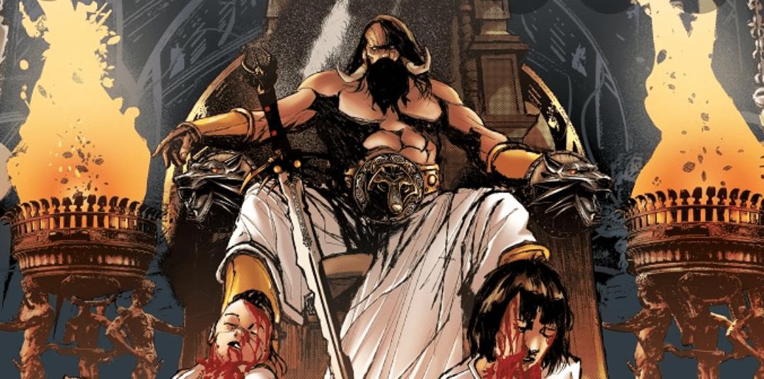Reseña The Barbarian King. La espada rota