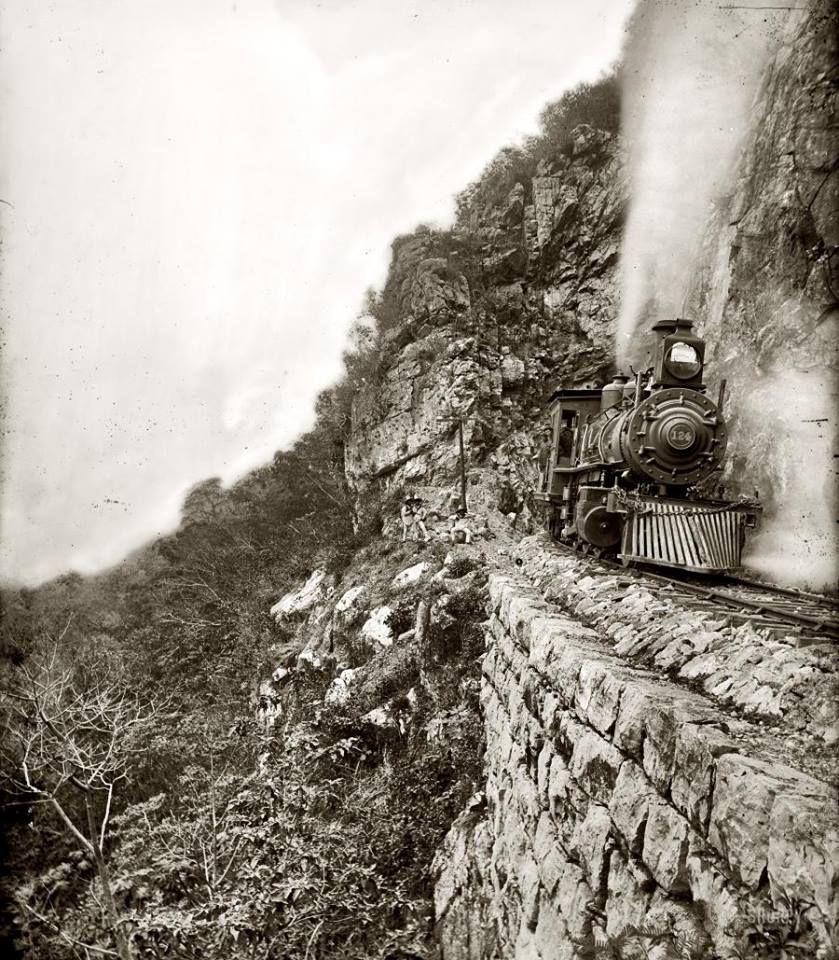 Ferrocarril de la época