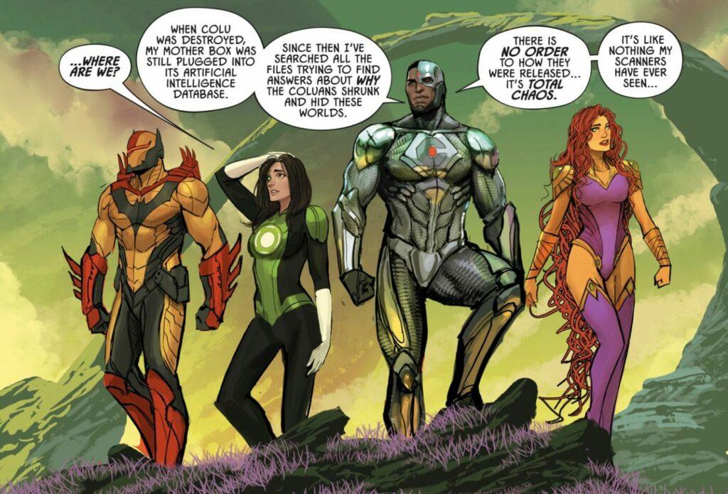 Liga de la Justicia Odisea