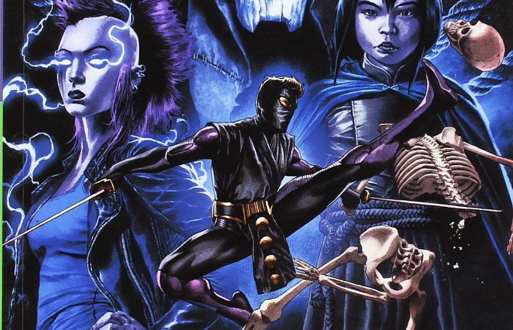 Reseña Ninjak/Shadowman: Rapture