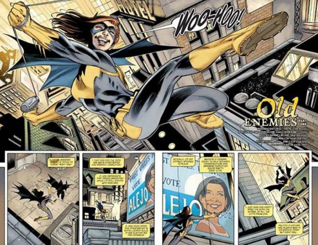 Batgirl el arte del crimen