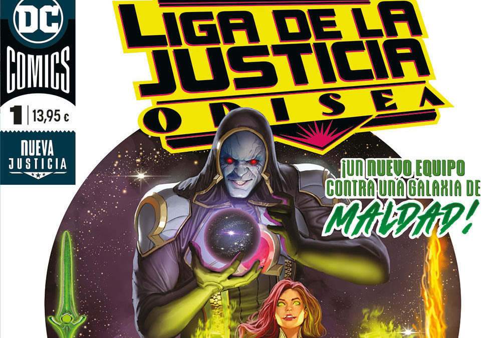 Liga de la Justicia Odisea.