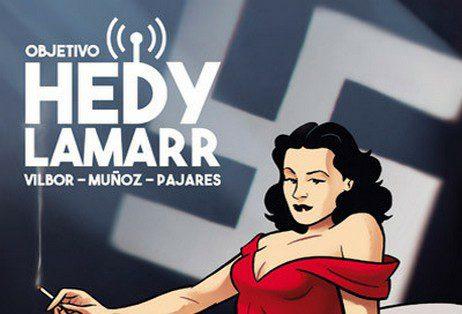 Objetivo Hedy Lamarr Grafito Editorial