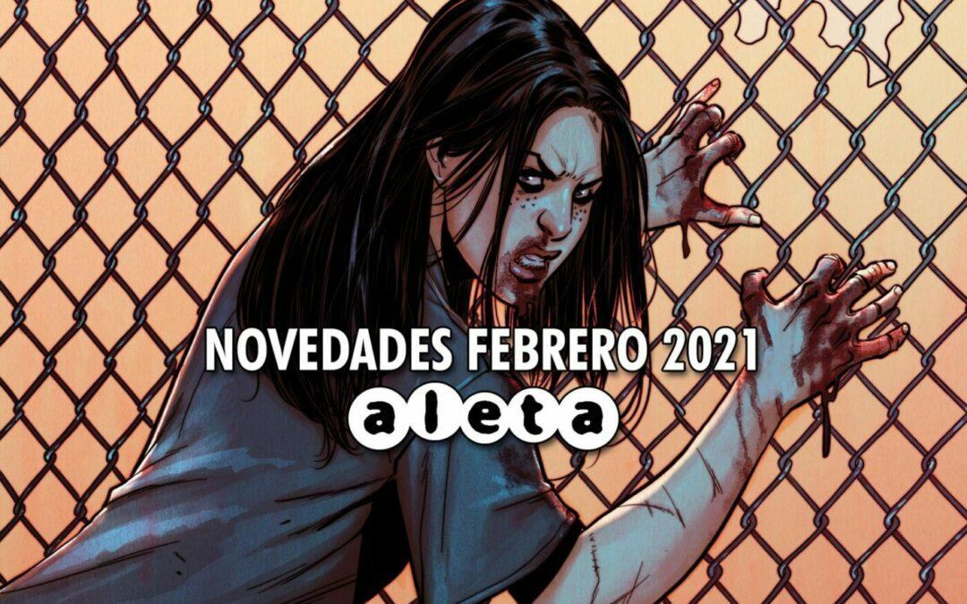 Novedades de Aleta Ediciones Febrero 2021