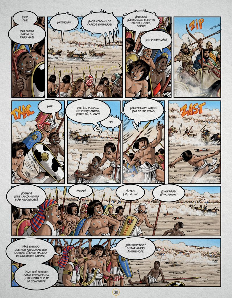 Historia de la humanidad en viñetas