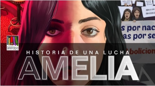 AMELIA. Historia de una lucha. Editorial SERENDIPIA.