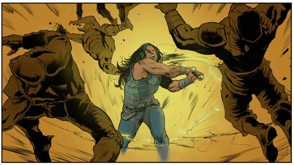 Conan vs Cthulu
