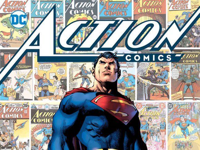 Action Comics Superman 80 años