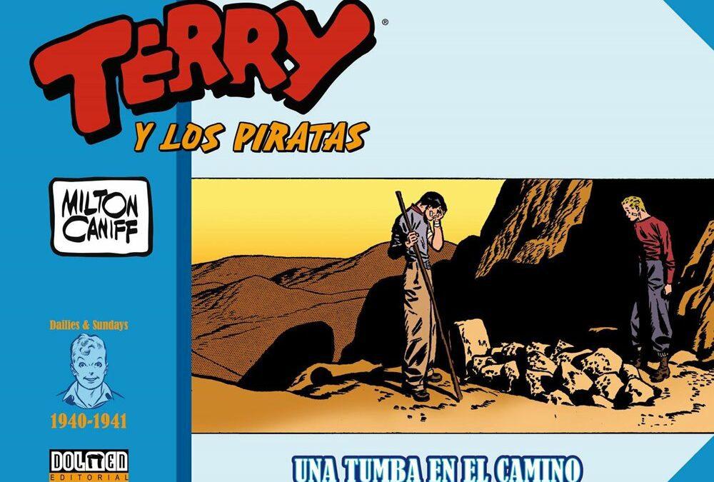 Terry y los Piratas. Una tumba en el camino